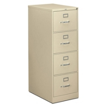 Four Drawer Legal Size Vertical File, 34930