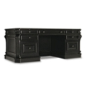 "Leather Top and Approach Executive Desk - 76.5""W x 36""D, 11347"