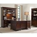 Contemporary Executive Office Set with Bookcase, 86011