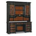 "Grandover 77"" Traditional Credenza Hutch, 13408"
