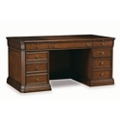 "Classic Leather Inlay Top Executive Desk - 66""W x 36""D, 13677"