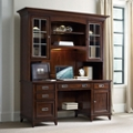 "Contemporary Computer Credenza and Hutch Set - 72""W x 24""D, 13683"