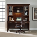 "Contemporary Laptop Desk with Hutch - 72""W x 25""D , 13684"