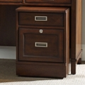 "17.5""W 2 Drawer Contemporary Mobile Pedestal, 30033"