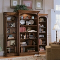 "82""H 15 Shelf Traditional Three Bookcase Set, 32027"