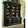 "88""H Twelve Shelf Bookcase and Storage Credenza, 32985"