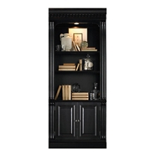 """86""""H Five Shelf Bookcase with Doors , 32986"""