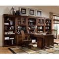 Traditional Partner Desk with Storage Wall, 86217
