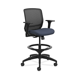 Mesh Back Stool with Fabric Seat, 56647