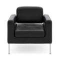 Club Chair in Bonded Leather, 76495