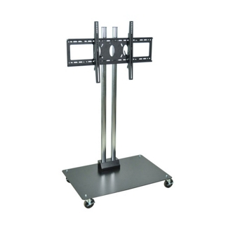 """Adjustable Height Mobile Flat Panel TV Stand - 65"""" H, 43249"""