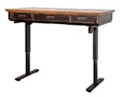"""Height Adjustable Sit-Stand Desk 60""""W, 10227"""