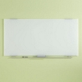 """72""""W x 36""""H Tempered Glass Dry Erase Markerboard, 80474"""