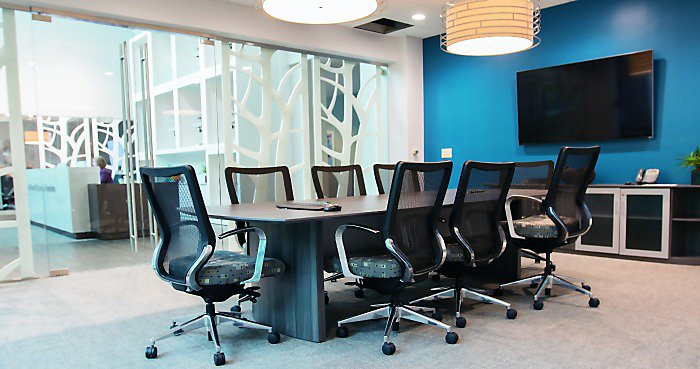 [Case Study] National Business Furniture Conference Rooms