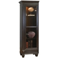 "Two-Tone Left Facing Half Bookcase - 75.5""H, 32113"