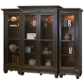 """Two-Tone Wall Bookcase- 97""""W x 78""""H, 32115"""