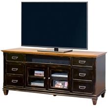 Two-Tone Storage TV Console, 43421