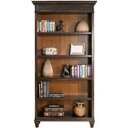 """Two-Tone Five Shelf Bookcase - 78""""H, 32111"""