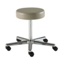 Fixed Height Bariatric Physician Stool with Chrome Base, 25923
