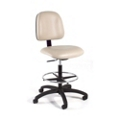 Vinyl Lab Stool with Seat Tilt , 25937