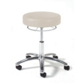 Physician Exam Stool with 360 Hand Lever and Aluminum Base, 25939