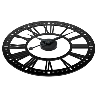 """Abbey 38"""" Contrast Numeral Wall Clock, 82360"""