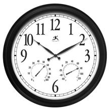 """Definative 24"""" Indoor/Outdoor Wall Clock, 91269"""