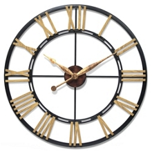 """Cologne 45"""" Oversized Wall Clock, 91275"""