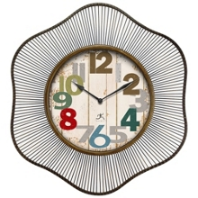 """Lace 31.5"""" Wire Frame Wall Clock, 91277"""