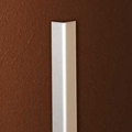 """90 Degree Aluminum Corner Guard with 1.5"""" Wings - 8ft High, 87807"""