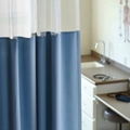 "Solid Print Privacy Curtain- 126""W x 74""H , 25959"