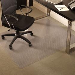 """Standard 46"""" x 60"""" Chair Mat for Carpet, 54122"""