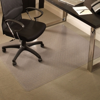"Premium 46"" x 60"" Chair Mat for Carpet, 54125"