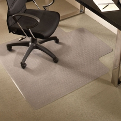 "Standard 36"" x 48"" Chair Mat with Lip for Carpet, 54126"