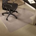 "Standard 45"" x 53"" Chair Mat with Lip for Carpet, 54127"