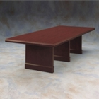 "Traditional Rectangular Conference Table - 144"" x 48"", 40337"