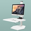 "Single iMac VESA Compliant Station - 30""W Work Surface, 60045"