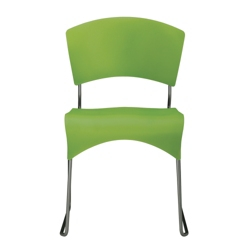Sled Base Armless Plastic Stack Chair, 50868