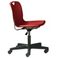 Armless Plastic Task Chair, 50873