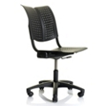 Armless Plastic Task Chair, 52394