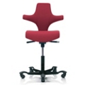 Saddle Back Fabric Ergonomic Task Chair, 52397