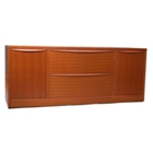 Two Drawer Filing and Storage Credenza, 13581
