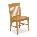 Rustic Wood Chair, 57046