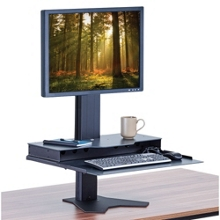 Height Adjustable Single Monitor Platform, 60005
