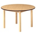 "Round Wood Table - 48"" Dia, 41728"