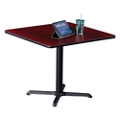 "36""W Square X-Base Breakroom Table , 41998"
