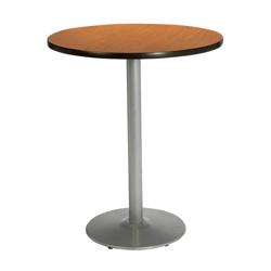 "Round Bar Height Pedestal Table - 30"" Diameter, 44020"