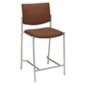 Armless Upholstered Back Stool, 44268