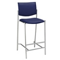 Armless Upholstered Back Barstool, 44269