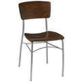 Solid Wood Breakroom Chair, 44696